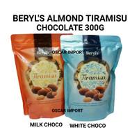 BERYL'S TIRAMISU ALMOND CHOCOLATE 300GR / BERYLS COKLAT