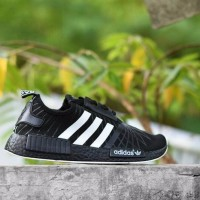 b974b1137 Sepatu Sport Anak Adidas NMD R1 Premium Import Hitam Putih