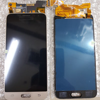 LCD 1SET SAMSUNG J3 J310 J320 GALAXY J3 J3 2016 ORIGINAL OEM GOLD