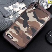 Army Case Oppo R7 Lite R7S Back Cover Casing Hp Softcase Hard Bumper