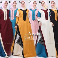 Gamis/Dress unik Neaka ori Salt ala Tuneeca/Esme/Dobu/Gagil/Pn fashion
