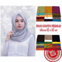 Jilbab Rawis Segi empat / Hijab Instan / Jilbab hitam / Muslim