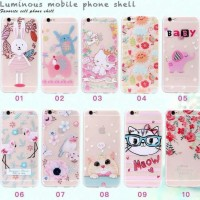 Softcase Luminous Mobile phone Shell Pelindung Hp Xiaomi Redmi 3X