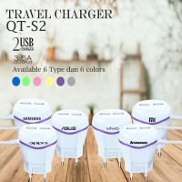 Xiaomi oppo vivo Travel Charger HP 2 usb 3.5amper output fast charging