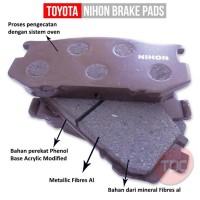 Nihon Brake Pad Mark II, Cressida Thn 1983-1988 GLXI Front Toyota