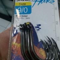 Kail Pancing Maguro Jigging Hooks Size 9/0 5pcs