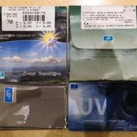 Lensa kacamata Minus / Baca Essilor SV Orma 1.5 Transitions Vll grey