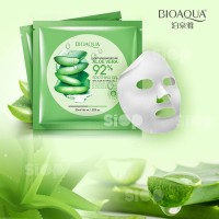 ORIGINAL BIOAQUA SHEET MASK 92% ALOEVERA or MASKER ALOE VERA