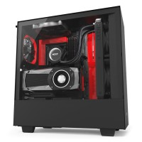 NZXT H500i - Black / White / Black-Red
