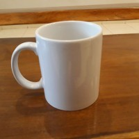 Sablon Gelas, Sablon Mug, Souvenir Gelas, Souvenir Mug - Putih