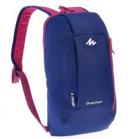 Jual TAS RANSEL BACKPACK QUECHUA ARPENAZ 10 L BLUE/PURPLE Murah
