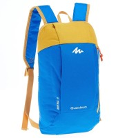 Jual TAS RANSEL BACKPACK QUECHUA ARPENAZ 10 L BLUE YELLOW Murah
