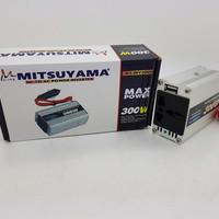 Power Inverter DC to AC Mitsuyama 300 Watt with USB 5V