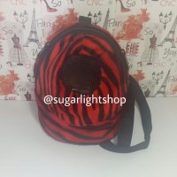 Harga bonding pouch oval jumbo motif loreng tas jalan hewan sugar | Pembandingharga.com