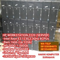 PC CPU Komputer Server Built Up Intel Xeon Ram 16Gb