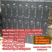 PC CPU Komputer Server Built Up Intel Xeon Ram 8Gb HD 1TB