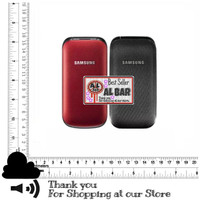 1 SET CASING SAMSUNG GT-E1195 E1190 FULLSET CARAMEL LIPAT SINGLE SIM