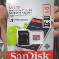 Memory Card - Kartu memori hp Micro sd 32 gb 32Gb sandisk class 10
