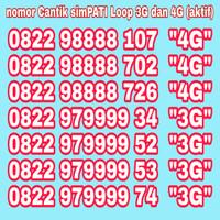 Jual Nomor Cantik Simpati Kartu Perdana Telkomsel 4G Murah Meriah Murah