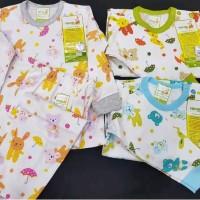Pakaian Setelan Baju Bayi Velvet Junior Panjang Motif B Murah