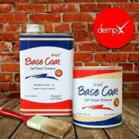 DEMP-X Base Coat. Cat dasar 2 komponen 2kg set