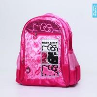 Hello Kitty Square Rsck L - Adinata / Tas sekolah ransel anak / Bag