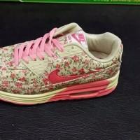 TERLARIS sepatu nike air max 90 floral pink
