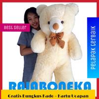 Boneka Beruang Teddy Bear Jumbo 1 Meter Cream