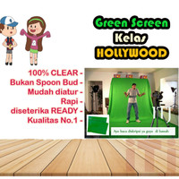 Green screen kain background hijau Murah