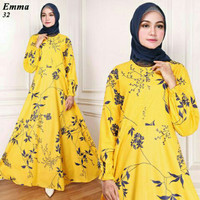 MAXI EMMA FLOWER LEAF YELLOW