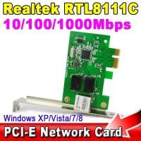 LAN PCI-eX REALTEK RTL811C GIGABIT