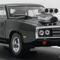 Greenlight 1:43 Dom's 1970 Dodge Charger R/T Fast Furious
