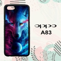 Casing OPPO A83 Custom HP Wolf Galaxy L0654