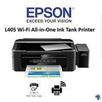 Printer Epson L405 WiFi All in One Ink Tank Printer Print Scan Copy
