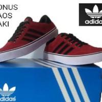 Sepatu Pria Casual Adidas Maroon Paling Laris 6bb55c99f0