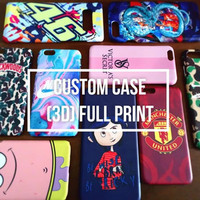 Casing Hp MEIZU M5 NOTE / Custom Case 3D Full Print All Tipe