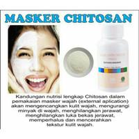 Harga masker chitosan anti aging kerutan berminyak dan muka | Pembandingharga.com