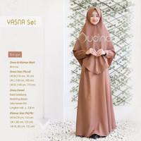 AUDINA - Gamis Yasna Set (Size: L)