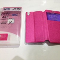 FLIP COVER UME CLASSIC OPPO NEO 9 A37 A37F LEATHER CASE / SARUNG HP