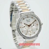 Jam Tangan Wanita Alexandre Christie AC 2691 Rose Gold Silver Original