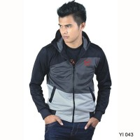 YI 043 | Jaket Hoodie Casual Fashion Pria Branded Catenzo 2018-2019