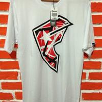 Famous White x Logo | Kaos Famous Logo F