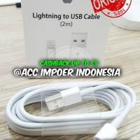 cable kabel data iphone 2M 5 5s 5c 6 6s 7 plus ipod ipad original