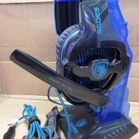 MODEL BARU Headset Sades Gaming SA 903 with 7 1ch pria wanita hadiah