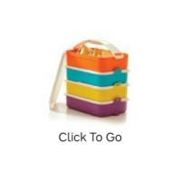 TUPPERWARE Click To Go - rantang 4 susun