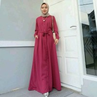 Jual azmiza maxi dress/dress murah/dress pesta/gamis syari/abaya / Murah