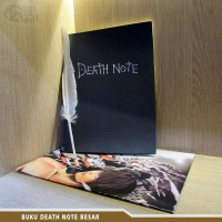 Buku Death Note Besar Anime Death Note L Kira