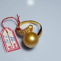 CINCIN EMAS MUTIARA AIR LAUT GOLD ORIGINAL LOMBOK