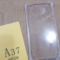 Anti crack Oppo Neo 9 A37 silikon anti shock softcase anti benturan