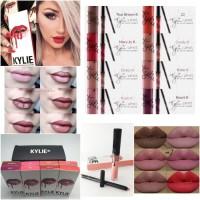 [ ECERAN ] KYLIE 2 in 1 Matte liquid lipstick Lip Liner XTT1939